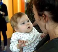 Notiek preses konference par topošo psiholoģiskā atbalsta programmu ģimenēm, kurās aug bērni ar aknu transplantātu.